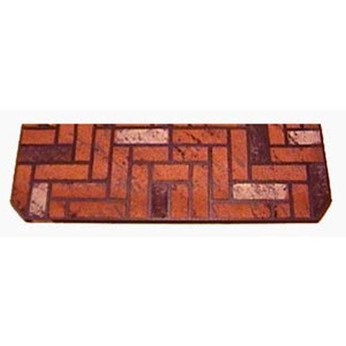 16'' x 48'' Red Brick Stoveboard