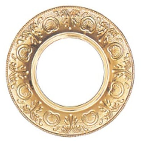 5 3/4'' Brass Trim Collar 12'' OD